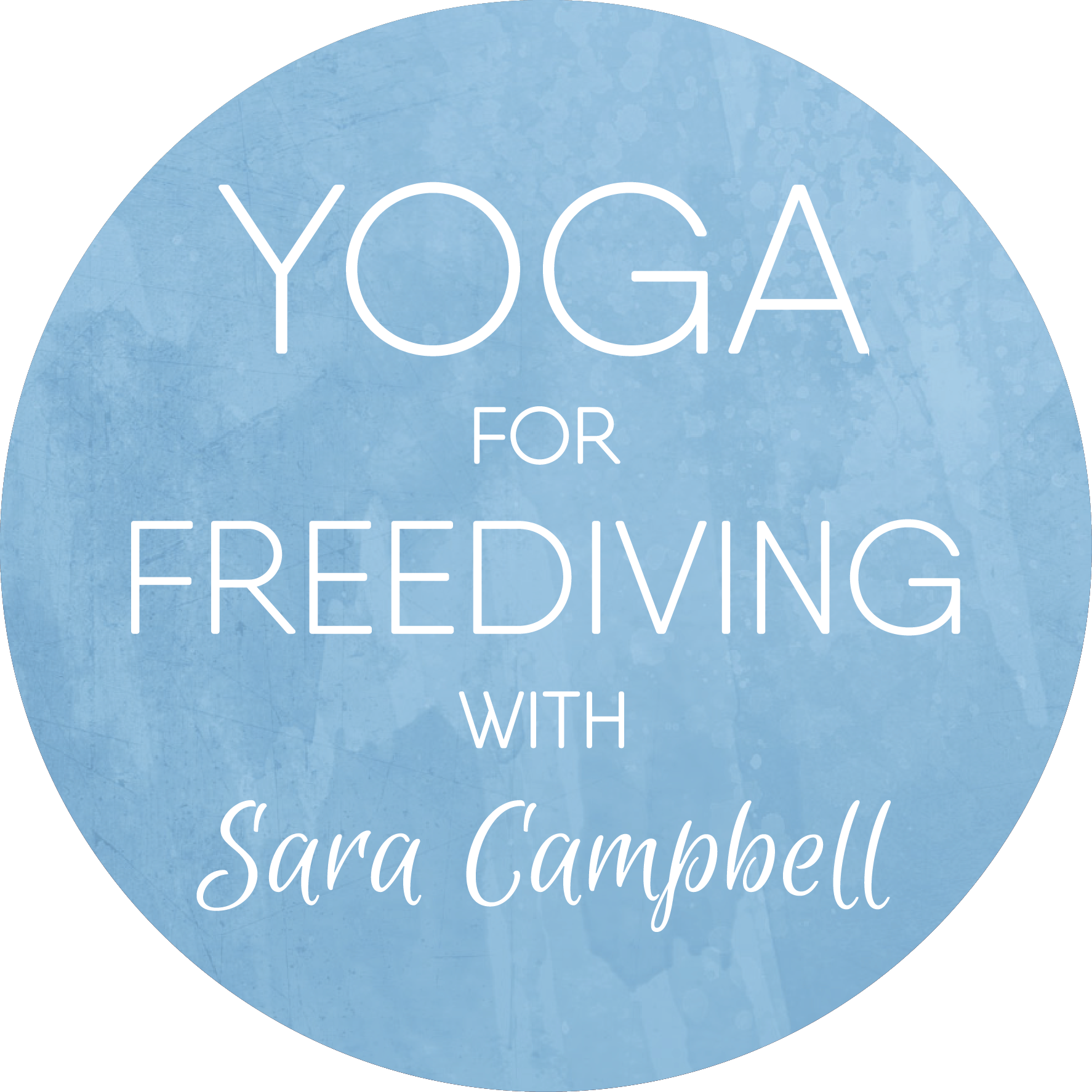 'Yoga For Freediving' is a series of online yoga courses by Sara Campbell